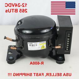 12V 24V DC Refrigeration Compressor Fridge Freezer Mobile So