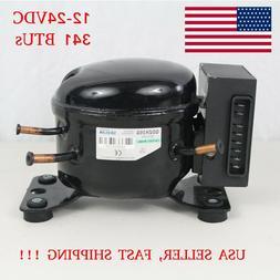 12V 24V DC Refrigeration Compressor Fridge Freezer Marine So