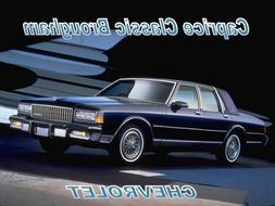 1987 Chevrolet Caprice Classic Brougham, Refrigerator Magnet
