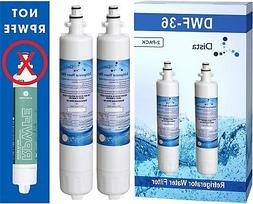 2-Pack - GE RPWF Compatible Replacement Refrigerator Water F