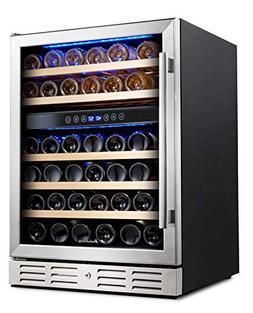 Kalamera 24 Wine refrigerator 46 Bottle Dual Zone Built-in o