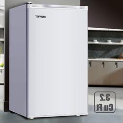 3.2 Cu.ft Mini Fridge Small Refrigerator Compact Freezer Fre