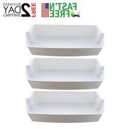 3-Pack Door Shelf Bins 2187172 Replacement for Frigidaire Wh