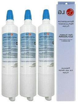 3 Pack Genuine LG LT600P 5231 JA2006A Fridge Water Filter fo