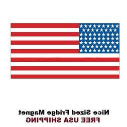307 - American Flag Refrigerator Fridge Magnet