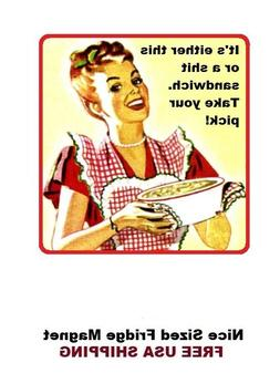 323 - Funny Sh#t Sandwich Fridge Refrigerator Magnet