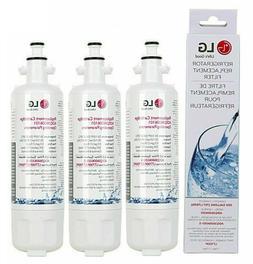3pack Genuine LG LT700P ADQ36006101 Refrigerator Water Filte
