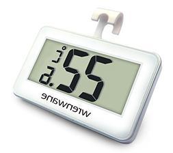 Wrenwane Digital Refrigerator Freezer Room Thermometer, No F