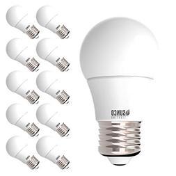 Sunco Lighting 10 Pack A15 LED Bulb, 8W=60W, 3000K Warm Whit