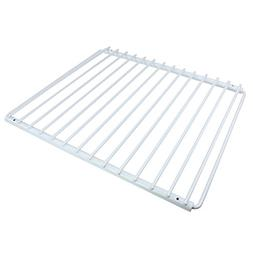 Spares2go Adjustable Plastic Coated Fridge Freezer Shelf Wit