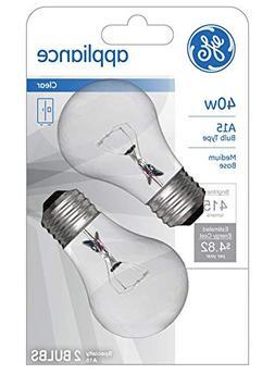 Applianc Bulb 40w A15pk2