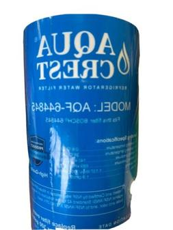 AQUACREST Refrigerator Water Filter, Compatible with Bosch U