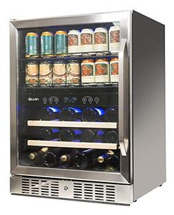 NewAir AWB-400DB Dual Zone Wine/Beverage Cooler and Refriger