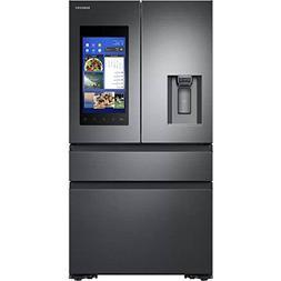 Samsung Black Stainless Steel Counter-Depth 4-Door Refrigera