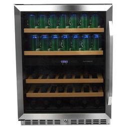 EdgeStar 24 Inch Built-In Wine and Beverage Cooler