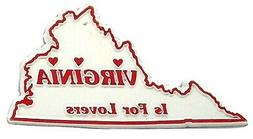 Classic Virginia is for Lovers Fridge Magnet