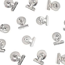12 Strong Scratch-Free Refrigerator Magnet Clips for Organi