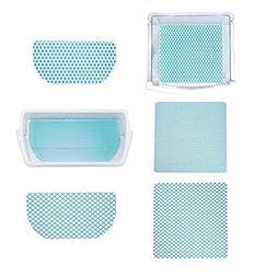 Fridge Coaster Combo Pack, Blue