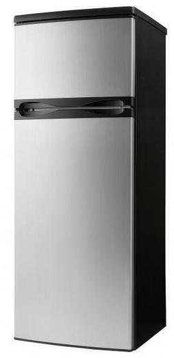 "Danby DPF073C1BSLDD 22"" Top Freezer Refrigerator with 7.3 cu"