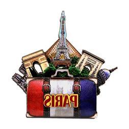 City-Souvenirs Effiel Tower Magnet 4 Inch 3D Paris Magnet an