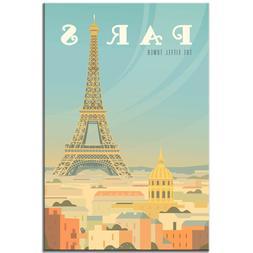 France fridge magnet Paris Vintage Poster Eiffel tower trave