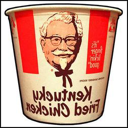 Fridge Fun Refrigerator Magnet KFC KENTUCKY FRIED CHICKEN BU