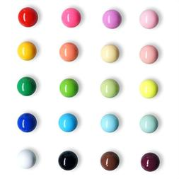 Fridge Magnets Spherical Muliticolor Refrigerator Office Mag