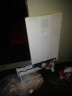 lg fridge parts lfx model duct asembley