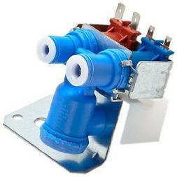 GE Refrigerator Dual Solenoid Inlet Water Valve WR57X10051 F