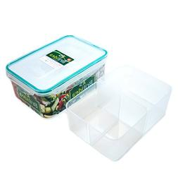 Bento Box Lunch Container with Dividers - Removable compartm