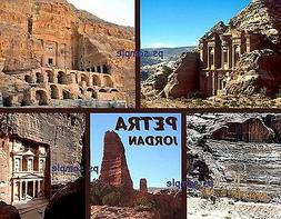 JORDAN - PETRA - Wonder of World - Travel Souvenir Flexible