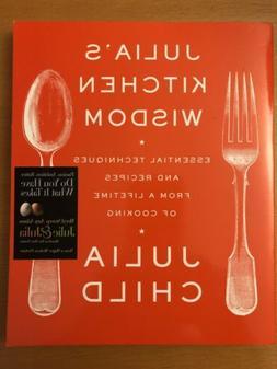 Julia's Kitchen Wisdom - Julie Child BRAND NEW Book Comple