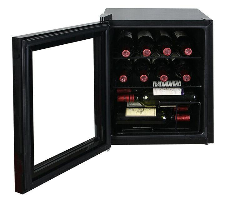 Avanti 1.6 Wine Beverage Fridge Refrigerator Black