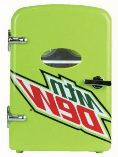 mt dew beverage center fridge w car