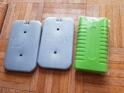 Lot Fridge To Go Panel freezing cooling 2 grey green small