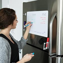 Magnetic Dry Erase White Board Reminder For Kitchen Fridge T
