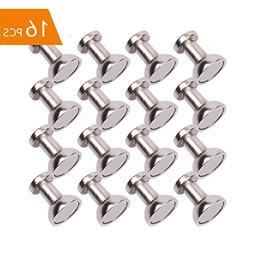Magnetic Push Pins, Refrigerator Magnets, OGIS 16pcs Brushed