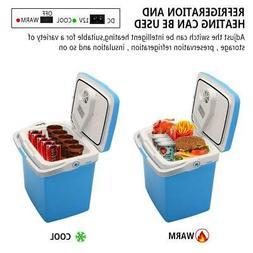 12V Electric Mini Fridge Chest Portable Hard Cooler and Warm