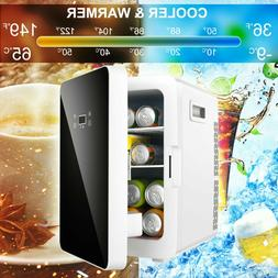 Mini Fridge Freezer Small Refrigerator 20L Compact Food Stor