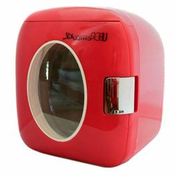 New Mini Fridge Refrigerator Cooler Compact Personal Retro R