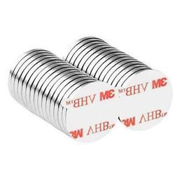 1/2 x 1/16 Inch Neodymium Rare Earth Disc Magnets N48 3M Sel