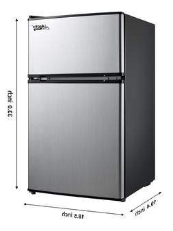 New 3.2 Cu Ft Mini Fridge Dorm Office Compact Refrigerator S
