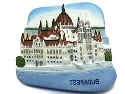 The Parliament Budapest Hungary, High Quality Resin 3d Fridg