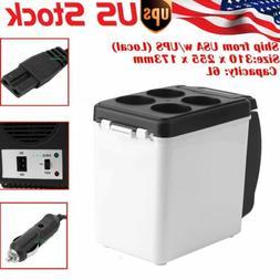 Portable Car Cooler Warmer Truck Electric Fridge 12v Travel