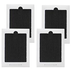 4 Pack Refrigerator Air Filter Replacement - Fits for Frigid