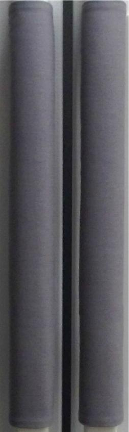 Refrigerator Oven Door Padded Handle Covers Gray Set of Two