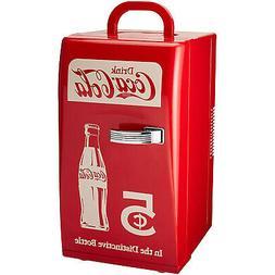 Koolatron CCR-12 Retro Coca Cola 18 Can Vintage Beverage Coo