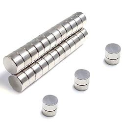 Round Magnets For Refrigerator By JACK CHOLE, 30Pcs 10MM x 3