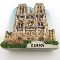Europe Fridge Magnet Souvenir Notre-Dame Cathedral De Paris
