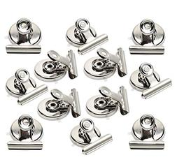 Strong Magnetic Clips - Heavy Duty Refrigerator Magnet Clips
